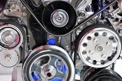 Vista della parte del motore Fotografia Stock