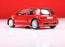 Vista della parte posteriore di sport di clio V6 di Renault Fotografia Stock Libera da Diritti