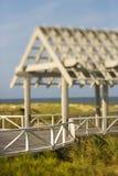 Vista della piattaforma del supporto conico Fotografie Stock