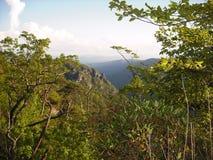 Vista 7 della roccia della Tabella Immagine Stock Libera da Diritti