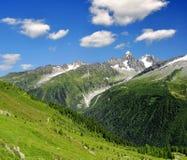 Alpi della Savoia Fotografie Stock