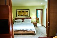 Vista della serie nel club della proprietà del paese di arabella dell'albergo di lusso Fotografia Stock Libera da Diritti