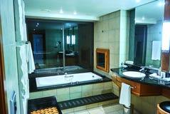 Vista della serie nel club della proprietà del paese di arabella dell'albergo di lusso Immagine Stock Libera da Diritti