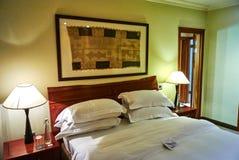 Vista della serie nel club della proprietà del paese di arabella dell'albergo di lusso Immagine Stock
