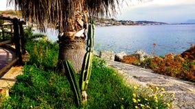 Vista della Sicilia Fotografia Stock