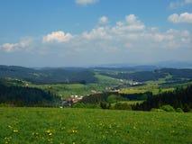 Vista della Slovacchia Fotografie Stock