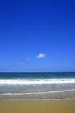 Vista della spiaggia fotografia stock libera da diritti
