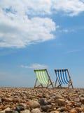 Vista della spiaggia Fotografie Stock