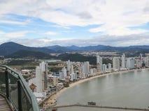 Vista della spiaggia dall'allerta Immagine Stock