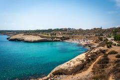 Vista della spiaggia del balai Fotografia Stock