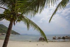Vista della spiaggia di Coral Cove a Koh Samui Island Thailand immagini stock libere da diritti