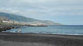 Vista della spiaggia di Palma della La immagine stock libera da diritti