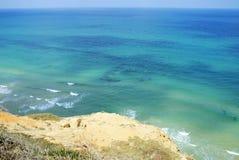 Vista della spiaggia di paradiso Fotografie Stock Libere da Diritti