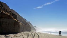 Vista della spiaggia imperiale di San Diego Fotografia Stock Libera da Diritti