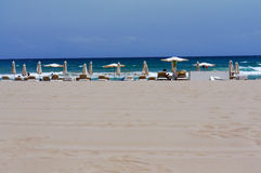 Vista della spiaggia San Juan Fotografia Stock Libera da Diritti