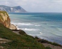 Vista della spuma del mare Immagine Stock