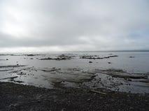 Vista della st Lawrence River dal cappuccio-Santé Fotografia Stock Libera da Diritti