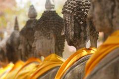 Vista della statua del buddha in Tailandia fotografia stock