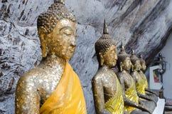 Vista della statua di Buddha Immagini Stock