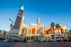 Vista della striscia a Las Vegas Fotografia Stock Libera da Diritti