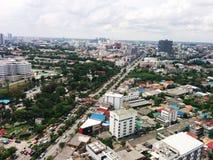 Vista della terra Fotografie Stock