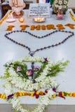 Vista della tomba di Madre Teresa nella Camera delle madri in Calcutta, Indi immagine stock libera da diritti