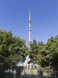 Vista della torre della televisione di Ostankino Fotografia Stock