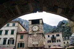 Vista della torre di orologio Fotografie Stock Libere da Diritti