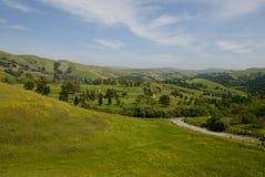 Vista della Toscana immagini stock