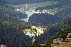 Vista della valle Fotografia Stock