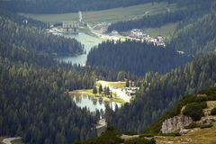 Vista della valle Fotografia Stock Libera da Diritti