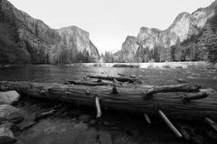Valle di Yosemite Immagini Stock