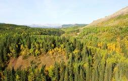 Vista della valle Immagini Stock