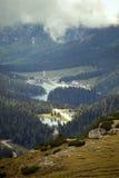 Vista della valle Immagine Stock Libera da Diritti