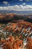 Vista della valle del canyon di Bryce Immagine Stock Libera da Diritti