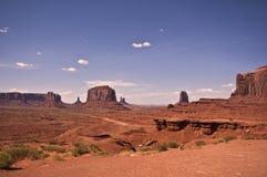 Vista della valle del monumento Fotografia Stock
