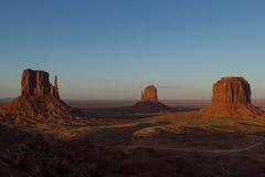 Vista #1 della valle del monumento Fotografia Stock