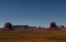 Vista #4 della valle del monumento Fotografia Stock Libera da Diritti