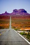 Vista della valle del monumento dell'Arizona fotografia stock libera da diritti