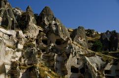 Vista della valle del sud di Cappadocia fotografia stock