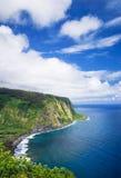 Vista della valle di Waipio sulla grande isola Hawai Immagini Stock