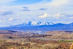 Vista della valle La Turchia Immagini Stock