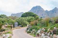 Vista della valle nascosta azienda agricola Fotografie Stock