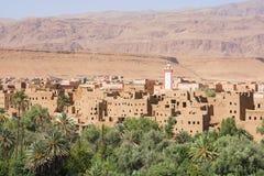 Vista della valle nel Marocco, Africa Fotografia Stock Libera da Diritti
