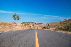 Vista della via Fotografie Stock