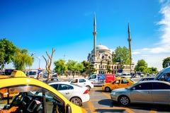 Vista della via a Costantinopoli Fotografia Stock Libera da Diritti