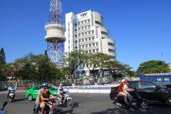 Vista della via del Myanmar Rangoon immagine stock libera da diritti