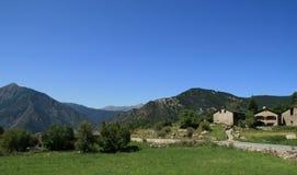 Vista della via dell'Andorra immagini stock libere da diritti