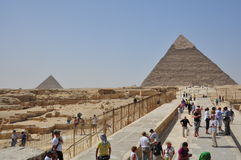 Vista della via dell'Egitto Il Cairo Immagine Stock Libera da Diritti
