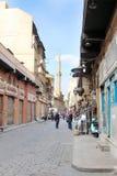 Vista della via dell'Egitto Il Cairo Fotografie Stock
